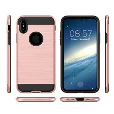 For iPhone X 10 Xs Case Cover Ultra Thin Rugged Heavy Duty Metallic Light Weight