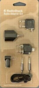 """RadioShack 3-FT Audio Kit 1/8"""" (3.5mm) Cable and 4 Adapters 4201039"""
