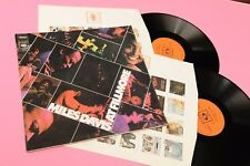 MILES DAVIS 2LP AT FILLMORE ORIG ITALY 1971 EX+ GATEFOLD LAMIANTED COVER JAZZ !