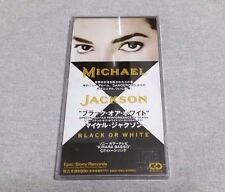 Michael Jackson Black Or White 3 Inch 8 cm Single CD 1991 Sony Records Mega Rare