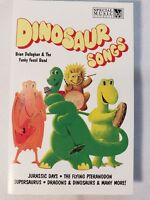 Dinosaur Songs Cassette Tape Childrens Sing-a-long Dullaghan Funky Fossil Band
