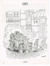 """PUBLICITE ADVERTISING 124  1998  DESSIN Sempé   """"ça marche"""""""