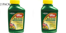 2 Systemic Insect Killer Plant Insecticide Fruit Flower Garden Ortho bug 16 oz.