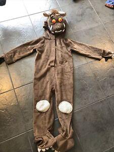 Unisex Gruffalo Fancy Dress Up Costume Age 3 4 5 Years