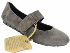 Born Women's Malli Mary Jane Flats Grey Leather Size 6.5 M