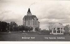 RP: SASKATOON , Sask., Canada , 1910-30s ; Besborough Hotel, Vimy Memorial