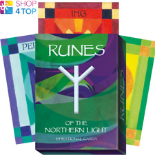 RUNES OF THE NORTHERN LIGHT ORACLE CARDS DECK PAOLA TARTARA LO SCARABEO NEW