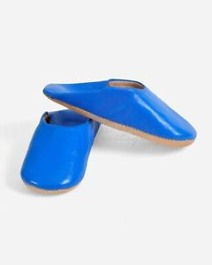 Morocco Shoe Leather Babouche Moroccan Slippers