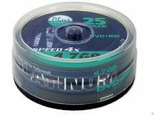 Plantinum DVD+RW Rohlinge 4.7 GB 25er Spindel