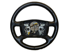 *VW GOLF MK4 1998-2004 4 SPOKE LEATHER MULTI FUNCTION STEERING WHEEL 1J0419091D