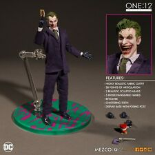 "Mezco Toyz One:12 Collective DC Comics THE JOKER 6"" Inch Action Figure"
