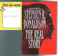 The Real Story The Gap Into Conflict by Stephen Donaldson 1991,Hardcover 1st Pr.
