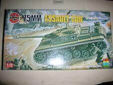 Air Fix 75MM Assault Gun Model Kit - 1:72 - Series 1 - Skill 2  #01306  (E 3)