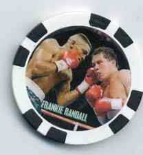 "FRANKIE RANDALL  ""THE SURGEON"" FIGHT COLLECTOR  CHIP"
