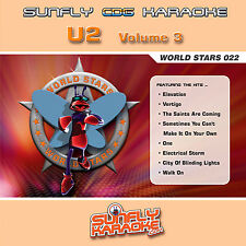 U2 VOL 3 SUNFLY KARAOKE CD+G