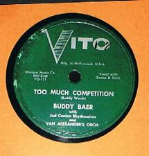 EXTREMELY RARE 1930-40's Buddy Baer music record boxing boxer fought Joe Louis