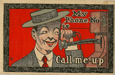 COMIC : My Phone Number is ----------CALL ME UP-EDC Co