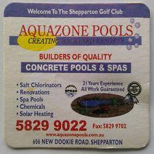Aquazone Pools & Spas 606 New Dookie Rd Shepparton Golf Club Coaster (B330-11)
