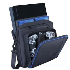 Black Carry Case Travel Carrying Bag For PlayStation4 PS4 Console Accessories