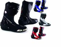 Racing Sport Track Stiefel Roadrunner Leistung Motorrad A-Pro Rindsleder