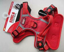 Red KONG CONTROL Dog Chest Harness Reflective Stitching SIZE Small S Up To 9kg