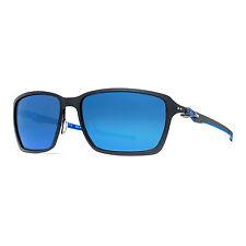 Oakley Tincan Carbon OO6017-04 Matte Black Ice Iridium Rectangular Sunglasses