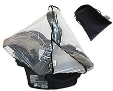 RAIN COVER For Car Seat, For Baby Pram Capsule fits Maxi Cosi, Steelcraft &...