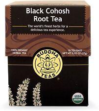 Black Cohosh Root Tea, Buddha Teas, 18 tea bag 1 pack