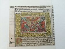 4 Inkunabeln Koberger Bibel Biblia Latina Nürnberg 1522