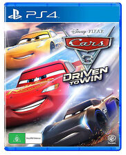 Cars 3 Driven To Win Disney Pixar Warner Bros Racing Game Sony Playstation 4 PS4