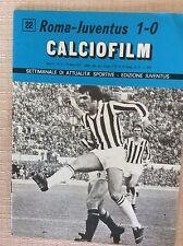 ROMA JUVENTUS  PROGRAMMA CALCIO FILM 1975 SCIREA GENTILE ANASTASI PAROLA VIOLA