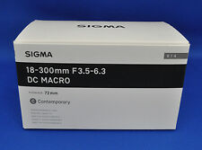 Sigma 18-300mm F3.5-6.3 DC MARCO OS HSM Contemporary Camera Lens Japan Model New