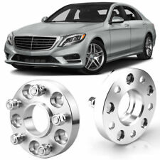 Wheel Spacers 20mm 5x112 66.6 +Bolts For Merc S-Class S63 AMG 2 W221 07-13