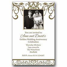 Anniversary Cards Invitations For Invitations For Sale Ebay