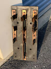 """Large Antique Industrial Knife Switch 24 X 16"""" 50lbs Railroad Mining STEAM PUNK"""
