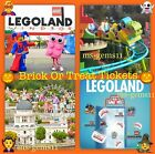 2 LEGOLAND WINDSOR TICKETS (6 available) ~ FOR SATURDAY 23RD OCTOBER 23/10/2021
