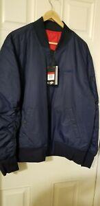 Nike Sportswear Reversible Bomber Jacket Synthetic Fill AR2183-451 Men's Large