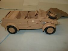 VW KDF KUBELWAGEN TYPE 82 PRESSED METAL 1/24 SCALE IN VERY GOOD CONDITION