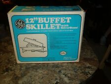"VINTAGE **NOS GENERAL ELECTRIC **G E **12 "" BUFFET SKILLET **SEALED BOX***"