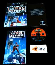 STAR WARS REBEL STRIKE ROGUE SQUADRON III Nintendo GAMECUBE PAL-España Español