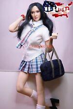 1/6 Sexy School Girl Uniform Set C For Hot Toys Phicen Female Figure ❶USA❶