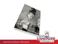 Autogrammkarte Willi O. Hoffmann – FC Bayern - limitiert! Kurt Landauer Stiftung