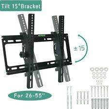 TV Wall Bracket Mount For 26 30 32 40 42 50 55 Inch 3D LCD LED Plasma UK