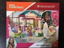 MEGA CONSTRUX AmericanGirl Lea's Beach Hut 183 pcs Building Set NEW SEALED