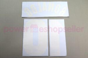 Inter Milan 1997/1998 #9 RONALDO Homekit Nameset Printing