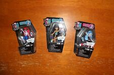 Monster High Mega Bloks Collections 2 & 3 Figure Lot (3 Characters) - New HTF!