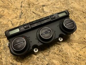 GENUINE VW EOS MK1 2007 CLIMATE HEATER CONTROL PANEL & HEATED SEAT CONTROL