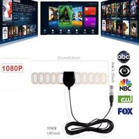 40 km Indoor-TV UKW UKW FM 4K 1080P HDTV HD DVB-T2 ATSC HD-Dünn-TV-Anten 0U