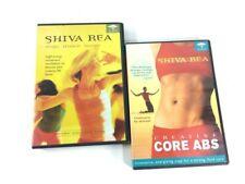 Shiva Rea, Lot of 2  DVD's-  Creative Core Abs, Yoga Trance Dance