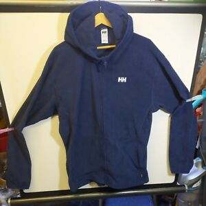 Helly Hansen Mens Navy Work Wear Full Zip Fleece Size XXL , Polartec. Big & Tall